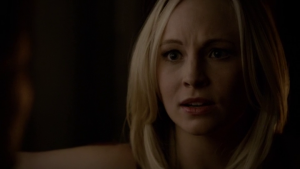 Résumé de l'épisode 14 saison 5  No Exit Caroline Stefan