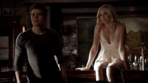 TVD 6x18 Stefan et Caroline