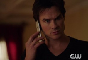 tvd 7x13 Enzo menace Damon