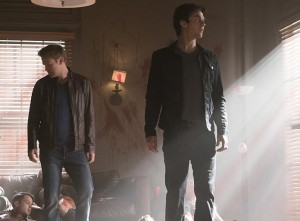 vampire diaries 7x18 Damon Alaric