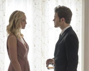 tvd 8x09 Caroline Stefan ratings