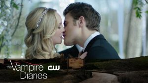 The Vampire Diaries _ We're Planning a June Wedding Trailer _ The CW mariage stefan caroline