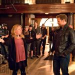 The Vampire Diaries  Episode: I Was Feeling Epic Season TK, Episode TK Air Date:  Pictured (L-R): Julie Plec, Matt Davis  BTS