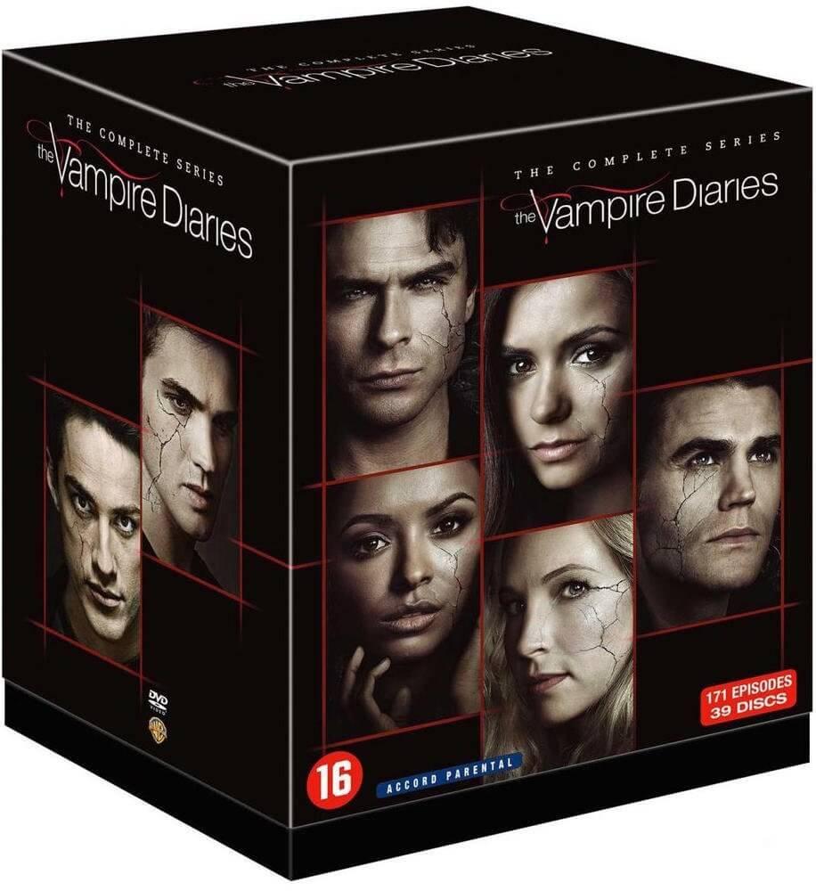 Sortie du coffret DVD intégrale 8 saisons de Vampire Diaries le 22 novembre